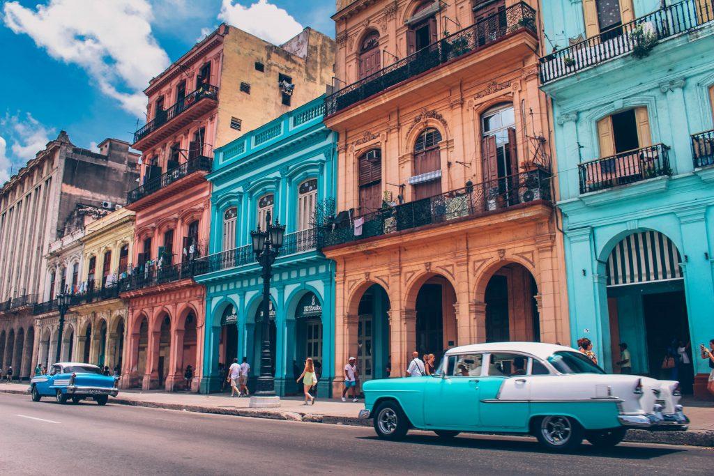 top 3 destinations été heure La Havane