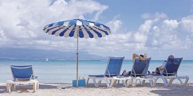 Le farniente : plage et transat