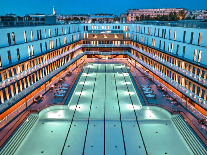 les plus belles piscines du monde - Paris Molitor
